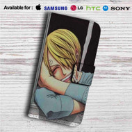 Sanji One Piece Custom Leather Wallet iPhone 4/4S 5S/C 6/6S Plus 7| Samsung Galaxy S4 S5 S6 S7 Note 3 4 5| LG G2 G3 G4| Motorola Moto X X2 Nexus 6| Sony Z3 Z4 Mini| HTC ONE X M7 M8 M9 Case