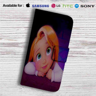 Tangled Rapunzel Child Custom Leather Wallet iPhone 4/4S 5S/C 6/6S Plus 7| Samsung Galaxy S4 S5 S6 S7 Note 3 4 5| LG G2 G3 G4| Motorola Moto X X2 Nexus 6| Sony Z3 Z4 Mini| HTC ONE X M7 M8 M9 Case