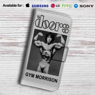 The Doors Gym Morrison Custom Leather Wallet iPhone 4/4S 5S/C 6/6S Plus 7| Samsung Galaxy S4 S5 S6 S7 Note 3 4 5| LG G2 G3 G4| Motorola Moto X X2 Nexus 6| Sony Z3 Z4 Mini| HTC ONE X M7 M8 M9 Case