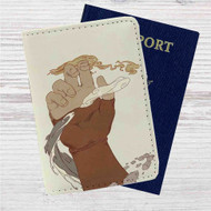 Avatar The Legend of Korra Hand Custom Leather Passport Wallet Case Cover