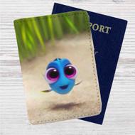 Baby Dory Disney Custom Leather Passport Wallet Case Cover