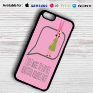 Bob's Burger Louise Belcher Beautiful Hideous Face iPhone 4/4S 5 S/C/SE 6/6S Plus 7| Samsung Galaxy S4 S5 S6 S7 NOTE 3 4 5| LG G2 G3 G4| MOTOROLA MOTO X X2 NEXUS 6| SONY Z3 Z4 MINI| HTC ONE X M7 M8 M9 M8 MINI CASE