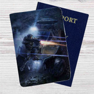 Halo 4 Master Chief and Warthog Custom Leather Passport Wallet Case Cover
