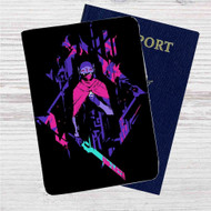 Hyper Light Drifter Custom Leather Passport Wallet Case Cover