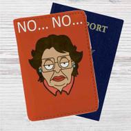 Lemon Pledge Family Guy Custom Leather Passport Wallet Case Cover
