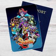 Shantae Half Genie Hero Custom Leather Passport Wallet Case Cover