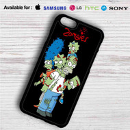 The Simpsons Zombies iPhone 4/4S 5 S/C/SE 6/6S Plus 7| Samsung Galaxy S4 S5 S6 S7 NOTE 3 4 5| LG G2 G3 G4| MOTOROLA MOTO X X2 NEXUS 6| SONY Z3 Z4 MINI| HTC ONE X M7 M8 M9 M8 MINI CASE