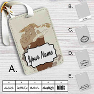 Avatar The Legend of Korra 1 Custom Leather Luggage Tag