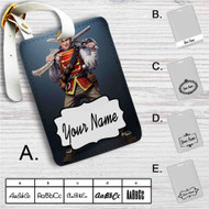 Ben Finn The Fable Custom Leather Luggage Tag