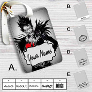 Death Note With Apple Custom Leather Luggage Tag