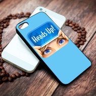 Heads Up! on your case iphone 4 4s 5 5s 5c 6 6plus 7 case / cases