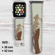 Avatar The Legend of Korra Anime Custom Apple Watch Band Leather Strap Wrist Band Replacement 38mm 42mm