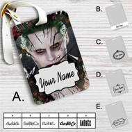 Joker Suicide Squad Custom Leather Luggage Tag