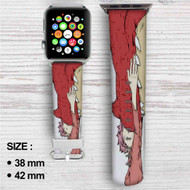 Igneel and Natsu Fairy Tail Custom Apple Watch Band Leather Strap Wrist Band Replacement 38mm 42mm