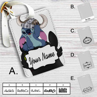 Stitch and Toothless Custom Leather Luggage Tag