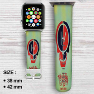 Twenty One Pilot Suicide Squad Custom Apple Watch Band Leather Strap Wrist Band Replacement 38mm 42mm