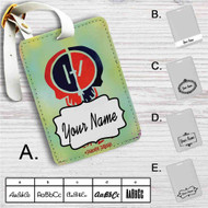 Twenty One Pilot Suicide Squad Custom Leather Luggage Tag