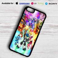Mighty No 9 iPhone 4/4S 5 S/C/SE 6/6S Plus 7  Samsung Galaxy S4 S5 S6 S7 NOTE 3 4 5  LG G2 G3 G4  MOTOROLA MOTO X X2 NEXUS 6  SONY Z3 Z4 MINI  HTC ONE X M7 M8 M9 M8 MINI CASE