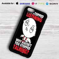 Stewie Family Guy iPhone 4/4S 5 S/C/SE 6/6S Plus 7| Samsung Galaxy S4 S5 S6 S7 NOTE 3 4 5| LG G2 G3 G4| MOTOROLA MOTO X X2 NEXUS 6| SONY Z3 Z4 MINI| HTC ONE X M7 M8 M9 M8 MINI CASE