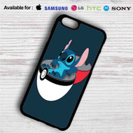 Stitch in Pokedex Ball iPhone 4/4S 5 S/C/SE 6/6S Plus 7| Samsung Galaxy S4 S5 S6 S7 NOTE 3 4 5| LG G2 G3 G4| MOTOROLA MOTO X X2 NEXUS 6| SONY Z3 Z4 MINI| HTC ONE X M7 M8 M9 M8 MINI CASE