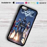 Superman Batman Wonder Woman iPhone 4/4S 5 S/C/SE 6/6S Plus 7  Samsung Galaxy S4 S5 S6 S7 NOTE 3 4 5  LG G2 G3 G4  MOTOROLA MOTO X X2 NEXUS 6  SONY Z3 Z4 MINI  HTC ONE X M7 M8 M9 M8 MINI CASE