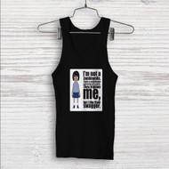 Tina Belcher I am Not Zombiephile Custom Men Woman Tank Top T Shirt Shirt