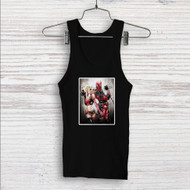 Wade Harley Deadpool Harley Quinn Custom Men Woman Tank Top T Shirt Shirt