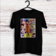Goku With Kintoun Dragon Ball Z Custom T Shirt Tank Top Men and Woman