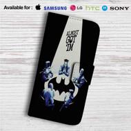 Batman Almost Got 'Im Custom Leather Wallet iPhone 4/4S 5S/C 6/6S Plus 7  Samsung Galaxy S4 S5 S6 S7 Note 3 4 5  LG G2 G3 G4  Motorola Moto X X2 Nexus 6  Sony Z3 Z4 Mini  HTC ONE X M7 M8 M9 Case