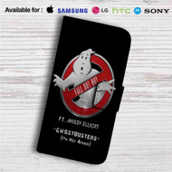 Fall Out Boy Ghostbusters ft Missy Elliot Custom Leather Wallet iPhone 4/4S 5S/C 6/6S Plus 7| Samsung Galaxy S4 S5 S6 S7 Note 3 4 5| LG G2 G3 G4| Motorola Moto X X2 Nexus 6| Sony Z3 Z4 Mini| HTC ONE X M7 M8 M9 Case