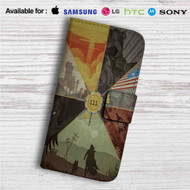 Fallout 4 111 Custom Leather Wallet iPhone 4/4S 5S/C 6/6S Plus 7| Samsung Galaxy S4 S5 S6 S7 Note 3 4 5| LG G2 G3 G4| Motorola Moto X X2 Nexus 6| Sony Z3 Z4 Mini| HTC ONE X M7 M8 M9 Case