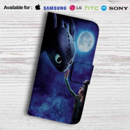 Hiccup and Toothless Custom Leather Wallet iPhone 4/4S 5S/C 6/6S Plus 7| Samsung Galaxy S4 S5 S6 S7 Note 3 4 5| LG G2 G3 G4| Motorola Moto X X2 Nexus 6| Sony Z3 Z4 Mini| HTC ONE X M7 M8 M9 Case