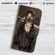 Levi x Shingeki no Kyojin Custom Leather Wallet iPhone 4/4S 5S/C 6/6S Plus 7| Samsung Galaxy S4 S5 S6 S7 Note 3 4 5| LG G2 G3 G4| Motorola Moto X X2 Nexus 6| Sony Z3 Z4 Mini| HTC ONE X M7 M8 M9 Case