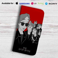 Peter Pan The Lost Boys Custom Leather Wallet iPhone 4/4S 5S/C 6/6S Plus 7| Samsung Galaxy S4 S5 S6 S7 Note 3 4 5| LG G2 G3 G4| Motorola Moto X X2 Nexus 6| Sony Z3 Z4 Mini| HTC ONE X M7 M8 M9 Case