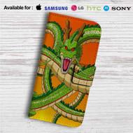 Shenlong Dragon Ball Z Custom Leather Wallet iPhone 4/4S 5S/C 6/6S Plus 7| Samsung Galaxy S4 S5 S6 S7 Note 3 4 5| LG G2 G3 G4| Motorola Moto X X2 Nexus 6| Sony Z3 Z4 Mini| HTC ONE X M7 M8 M9 Case
