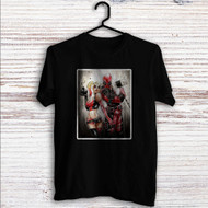 Wade Harley Deadpool Harley Quinn Custom T Shirt Tank Top Men and Woman
