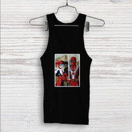 American Gothic Harley Quinn and Deadpool Custom Men Woman Tank Top T Shirt Shirt