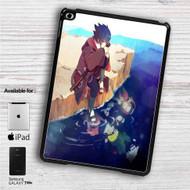 """Sasuke Uchiha Naruto Shippuden iPad 2 3 4 iPad Mini 1 2 3 4 iPad Air 1 2   Samsung Galaxy Tab 10.1"""" Tab 2 7"""" Tab 3 7"""" Tab 3 8"""" Tab 4 7"""" Case"""
