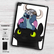 "Stitch and Toothless iPad 2 3 4 iPad Mini 1 2 3 4 iPad Air 1 2 | Samsung Galaxy Tab 10.1"" Tab 2 7"" Tab 3 7"" Tab 3 8"" Tab 4 7"" Case"