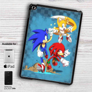 "Team Sonic The Hedgehog iPad 2 3 4 iPad Mini 1 2 3 4 iPad Air 1 2 | Samsung Galaxy Tab 10.1"" Tab 2 7"" Tab 3 7"" Tab 3 8"" Tab 4 7"" Case"