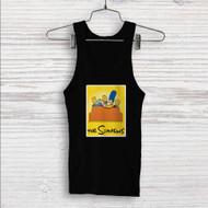 The Simpsons Watching TV Custom Men Woman Tank Top T Shirt Shirt