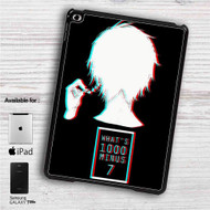 "Tokyo Ghoul What's 100 Minus 7 iPad 2 3 4 iPad Mini 1 2 3 4 iPad Air 1 2 | Samsung Galaxy Tab 10.1"" Tab 2 7"" Tab 3 7"" Tab 3 8"" Tab 4 7"" Case"