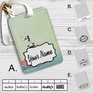 Hayao Miyazaki's My Neighbour Totoro Custom Leather Luggage Tag