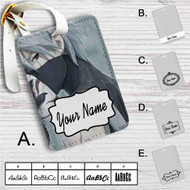 Kakashi Hatake Naruto Shippuden Custom Leather Luggage Tag