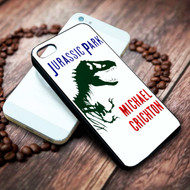 Jurassic Park Michael Crichton on your case iphone 4 4s 5 5s 5c 6 6plus 7 case / cases
