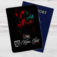 50 Cent No Romeo No Juliet feat Chris Brown Custom Leather Passport Wallet Case Cover