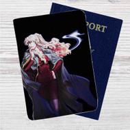 Black Lagoon Balalaika Custom Leather Passport Wallet Case Cover