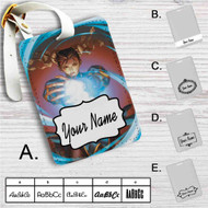 Street Fighter Chun-Li Custom Leather Luggage Tag