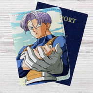 Future Trunks Dragon Ball Custom Leather Passport Wallet Case Cover