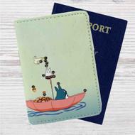Hayao Miyazaki's My Neighbour Totoro Custom Leather Passport Wallet Case Cover